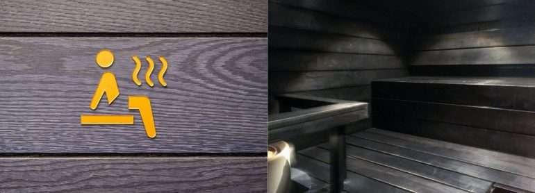 Finnair Platinum Wing sauna
