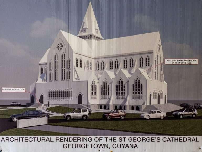 St Georgen kirkko Georgetown Guyana