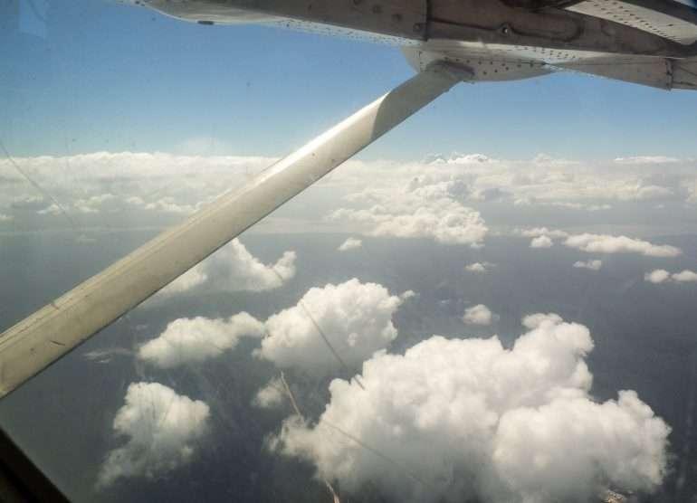 Georgetownista lentäen Kaieteurille
