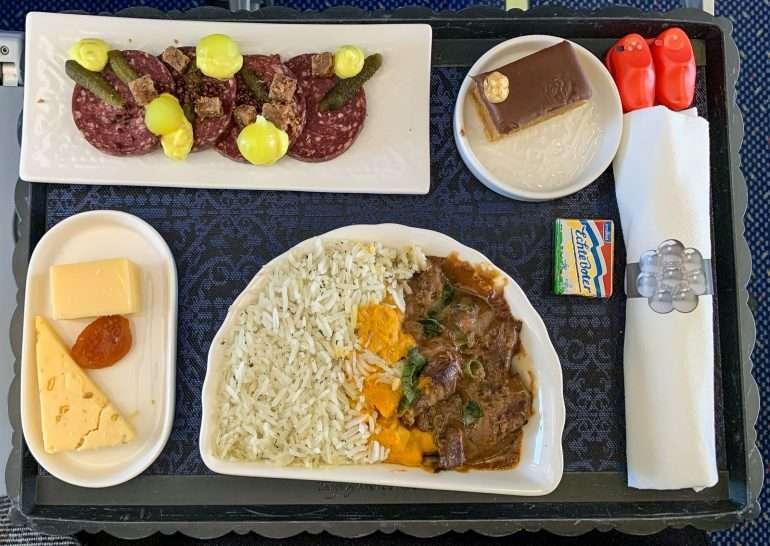 KLM ruokaa