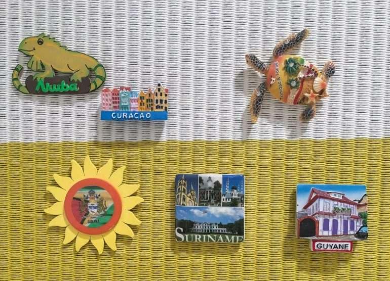 Magneetit maaliskuu 2020 Surinamesta Aruballe kustannukset