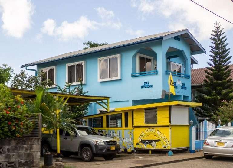 Värikäs talo