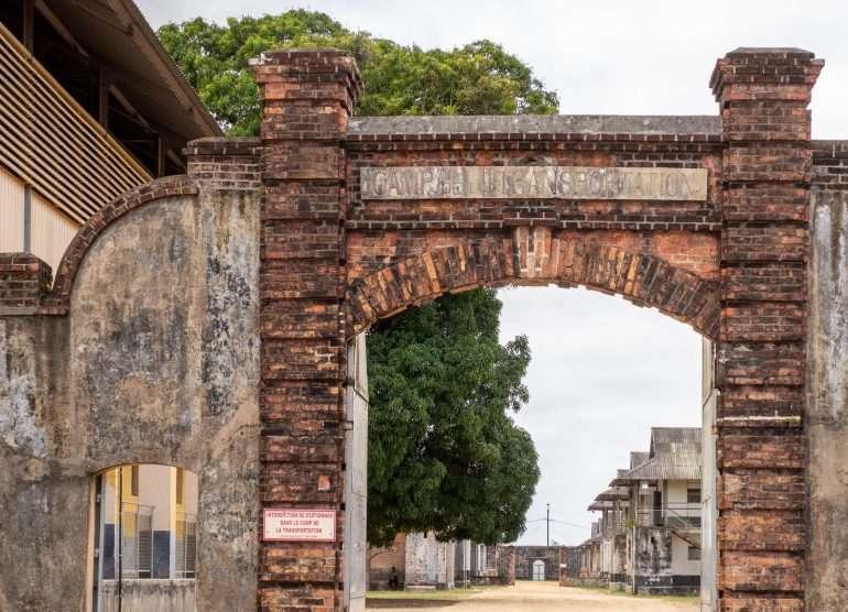 Ranskan Guyana Camp de la Transportation Saint-Laurent du Maroni