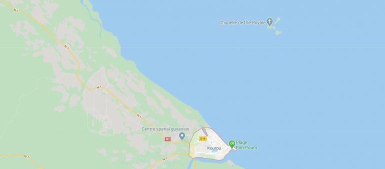Kartta Pelastuksen saaret