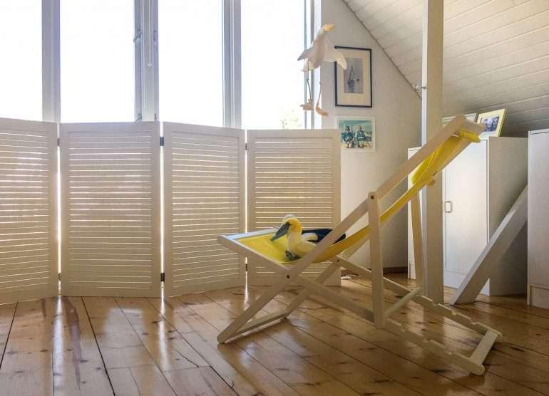 makuuhuone Meriharakoiden koti