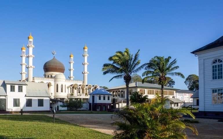 Moskeija ja synagoga Paramaribo