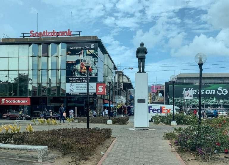 Itsenäisyydenaukio Port of Spain