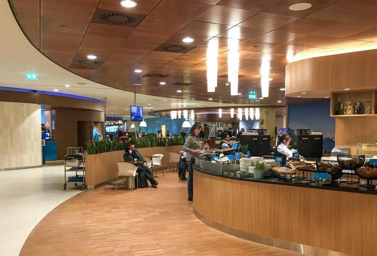 KLM Lounge Amsterdam