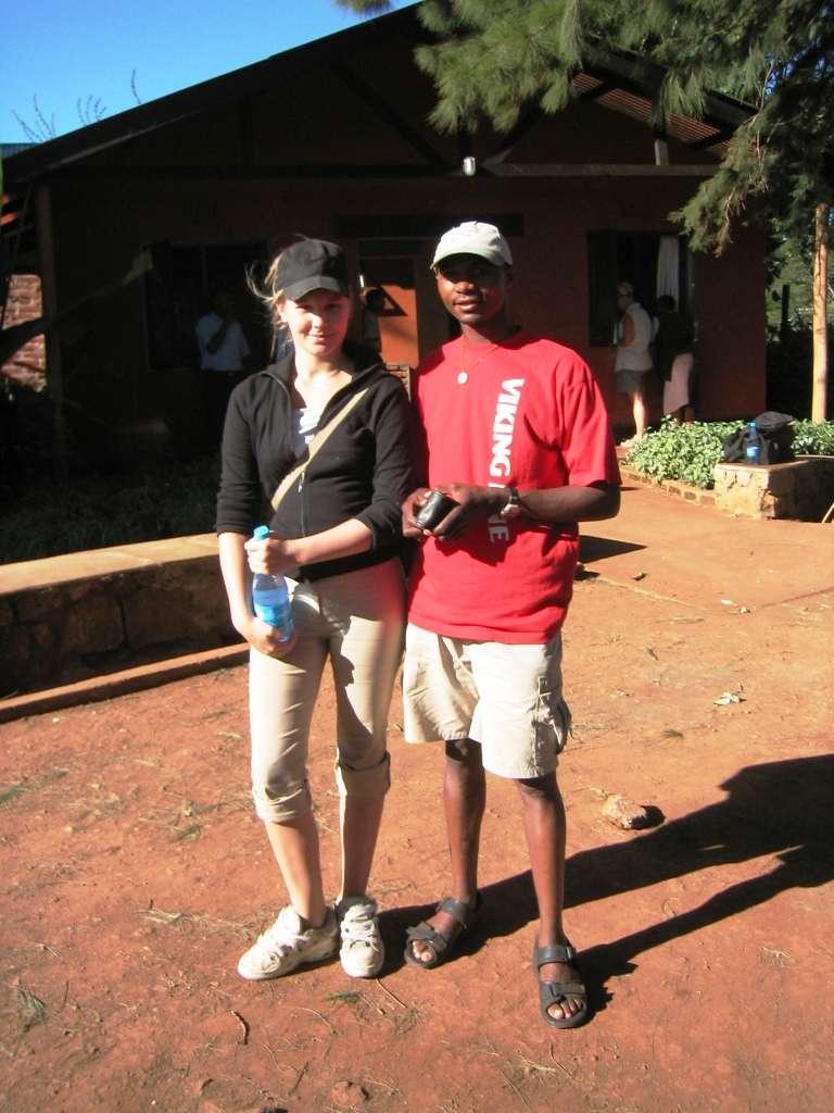 Satu ja Charlie Serengeti