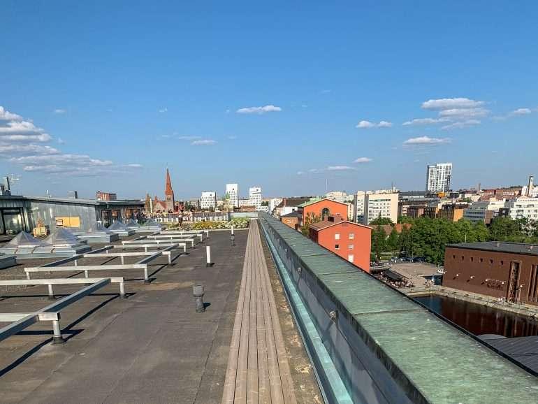 Turistina Tampereella Roof Walk