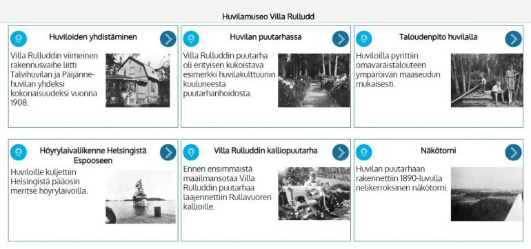 Villa Rulludd virtuaalisesti