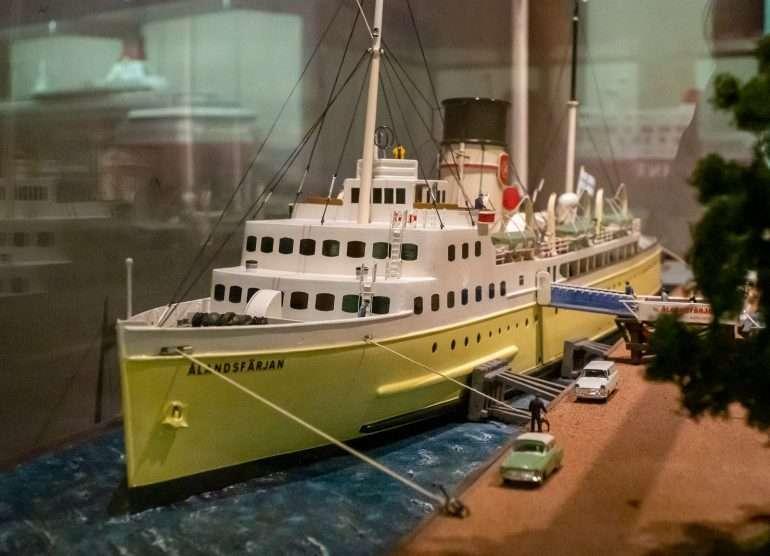 Ahvenanmaan merenkulkumuseo Päivä Ahvenanmaalla