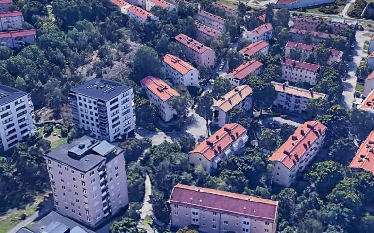 Storsjövägen Asuin täällä