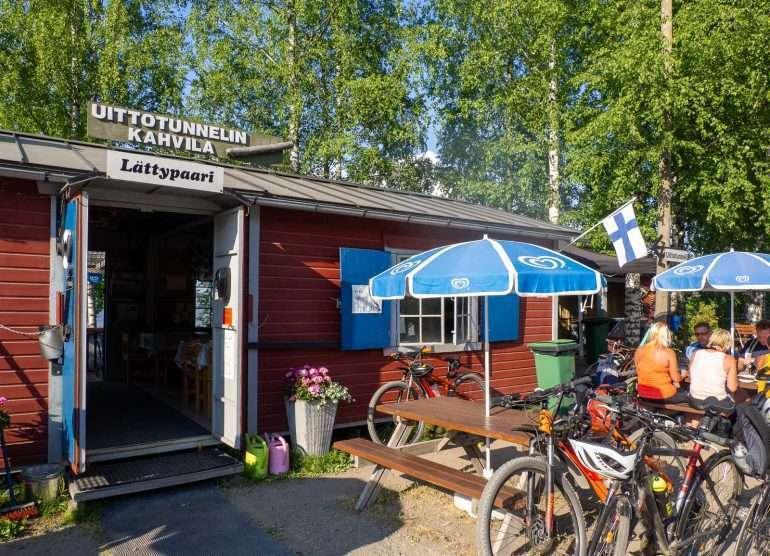 Uittotunnelin kahvila Tampere