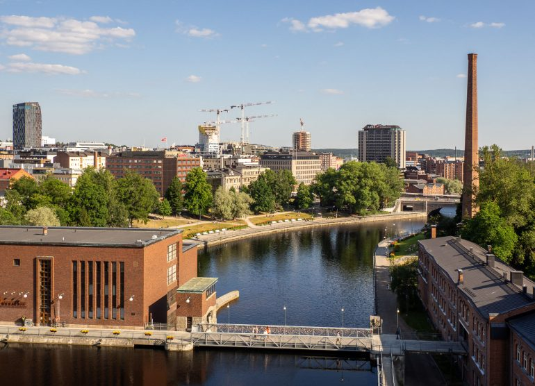 Tampere Finlaysonin katto