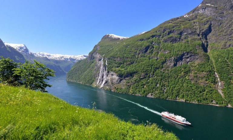 Geirangerinvuono Seadream risteily Norja