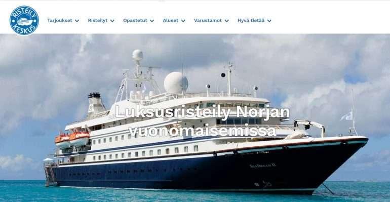 risteilykeskusseadream SeaDream ja Hurtigruten