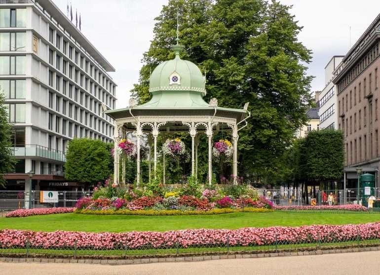Bergen keskustaa