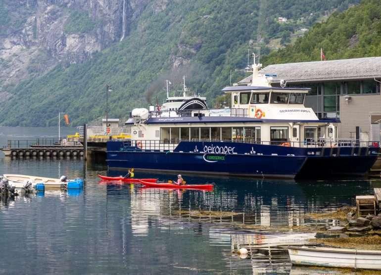 Geirangerfjord II Geirangerissa