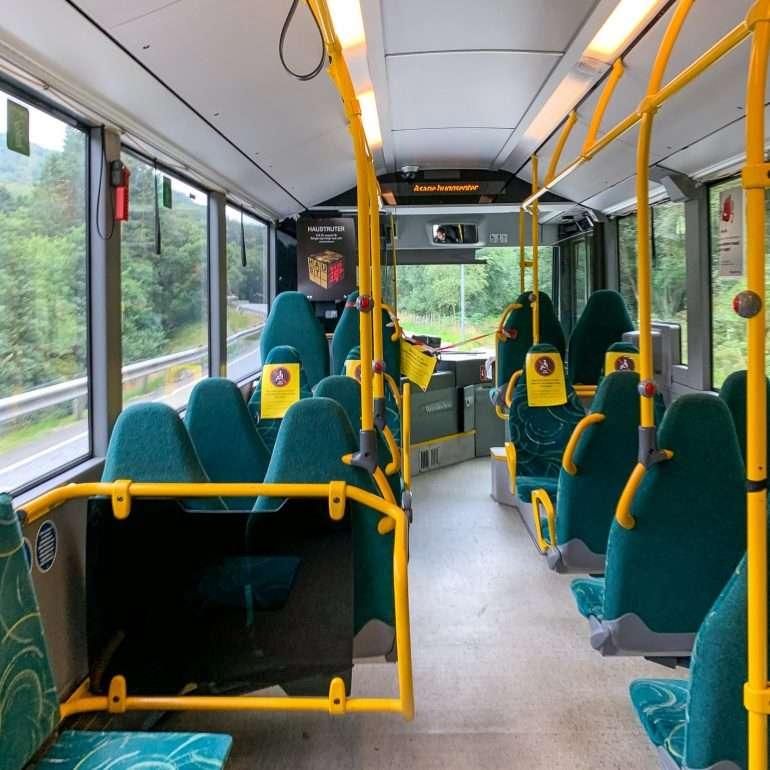 Korona-ajan bussi Norjassa Norja kustannustaso