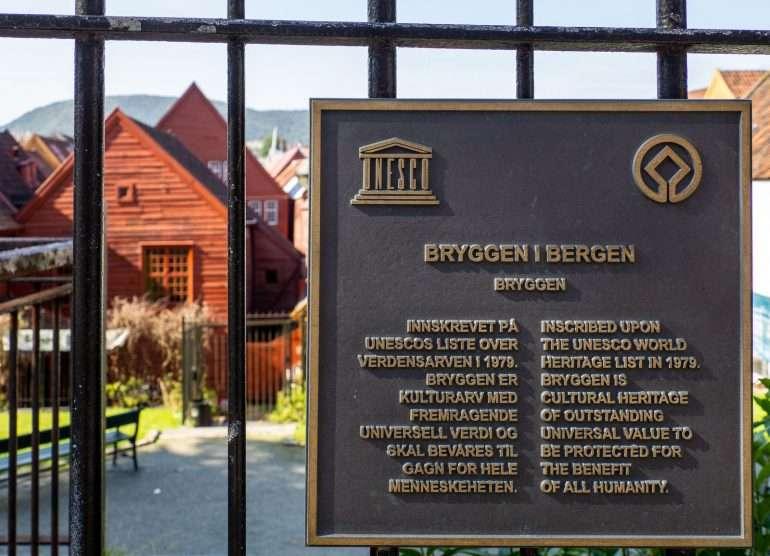 Unescon maailmanperintökohde Norja kustannustaso