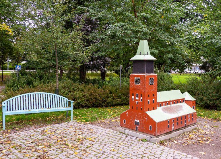 Tuomiokirkko Kupittaan puisto
