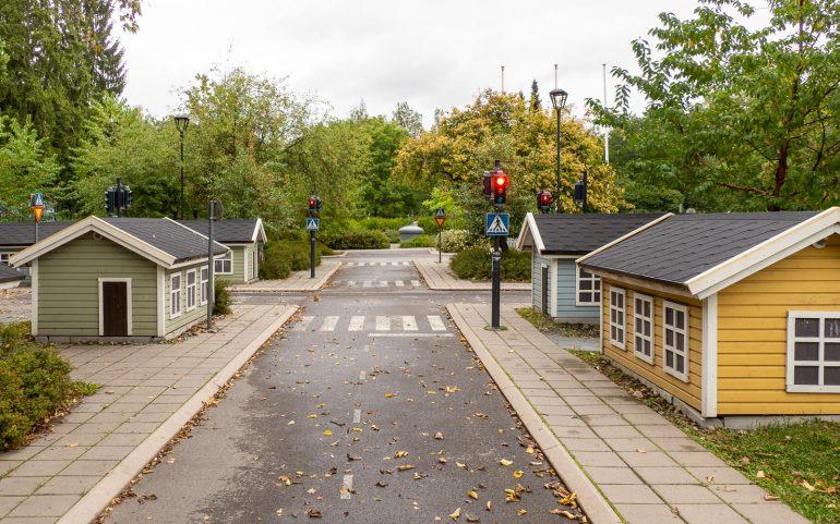 Liikennekaupunki Kupittaan puisto Turku
