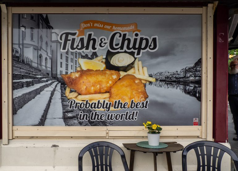 Fish & Chips Norja