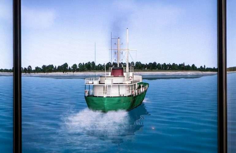 Jenny II navigointisimulaattori