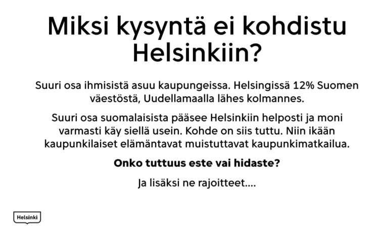 Helsinki matkailuseminaari 2020 Matkalle koronamaailmassa ?