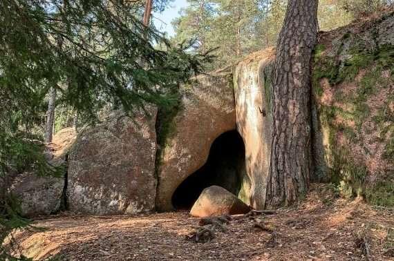 Högbergetin luola