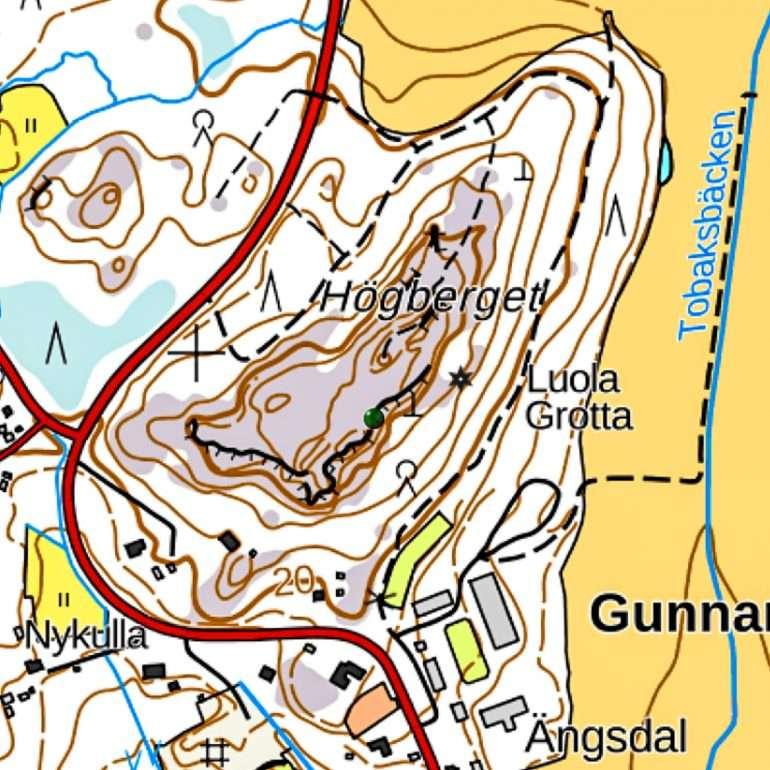 Karttaselain Högberget