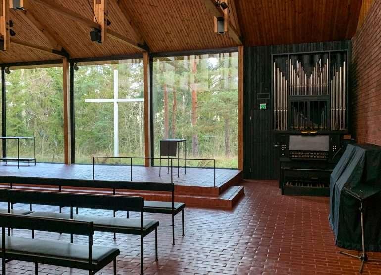 Otaniemen kappeli Siren arkkitehtuuri