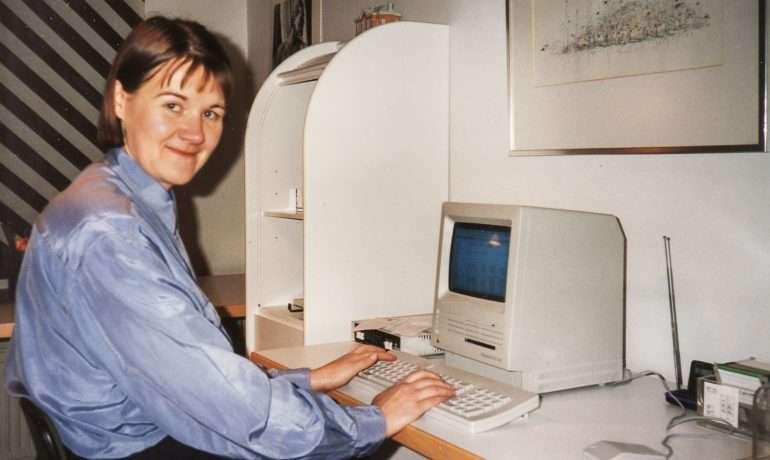 Työpiste 90-luku