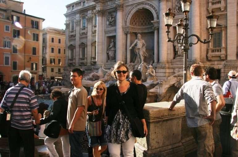 Fontana di Trevi Italia