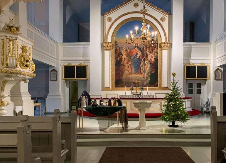 Vanha kirkko jouluseimi jouluseimet
