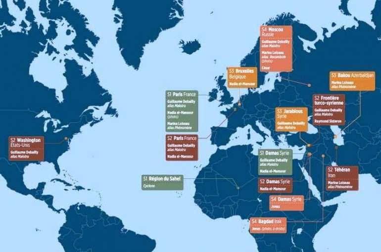 lebureau map