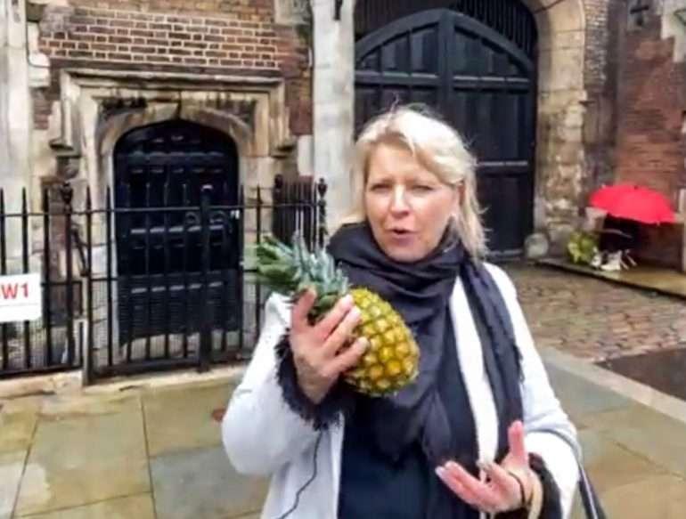 Virtuaalikierros Lontoo ananas