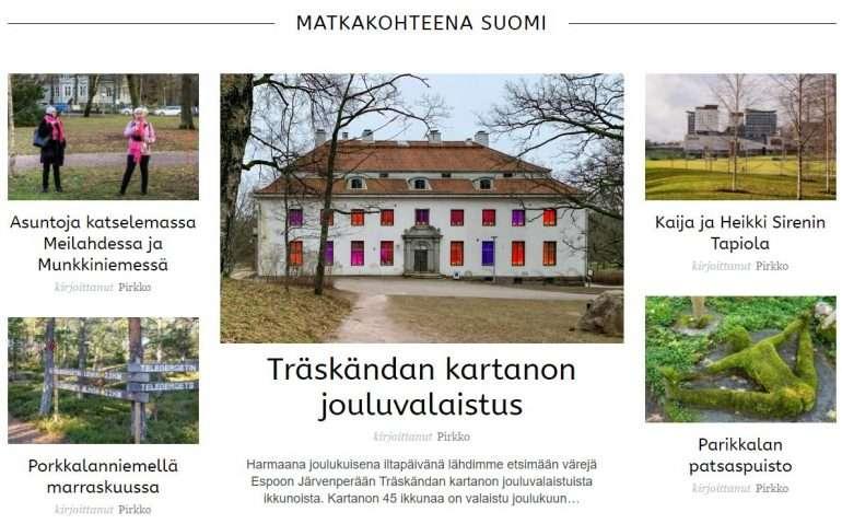 suomi Matkavuosi 2020