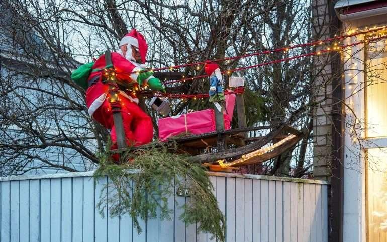 Hanko joulukatu Joulu Hangossa