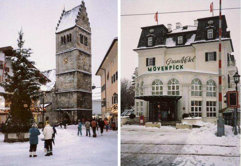 Zell am See kylä Itävalta