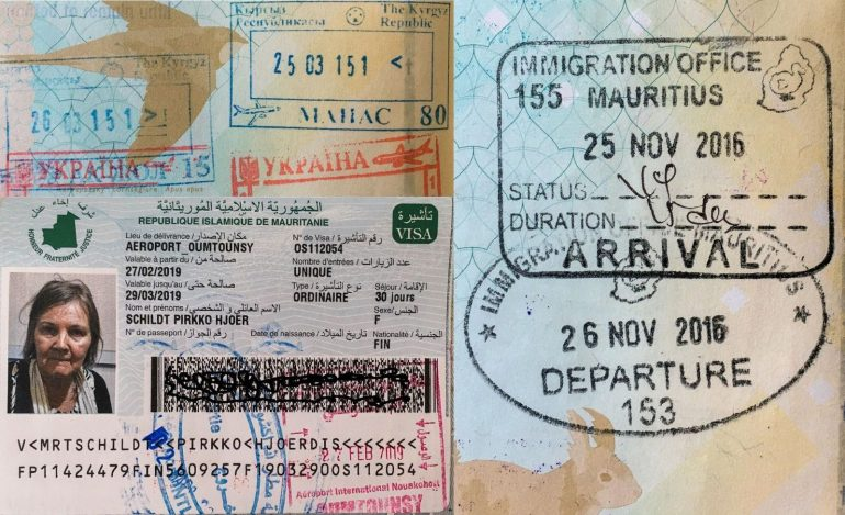 Cool & Rare Passport Stamps