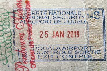 Harvinaisia leimoja passissa 1