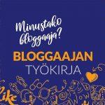 Bloggaajan työkirja – voita oma kappaleesi!