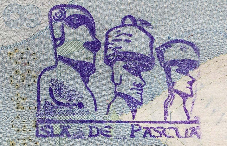 Pääsiäissaari passileima