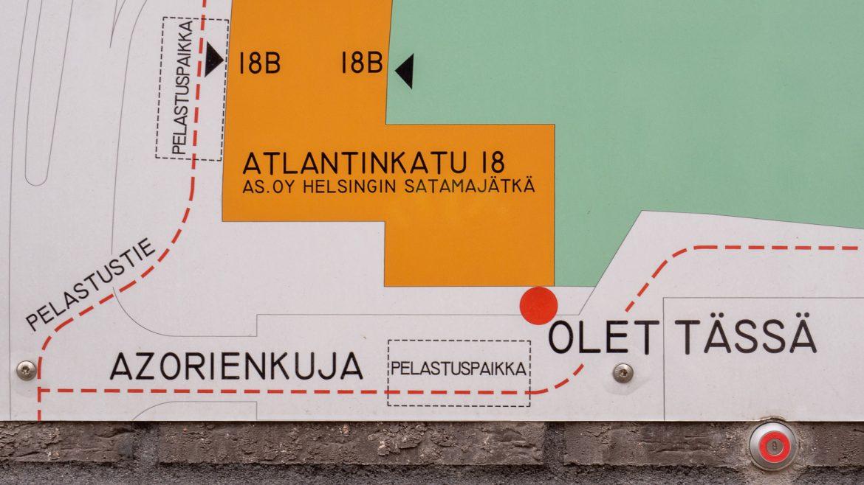 Azorienkuja Jätkäsaari