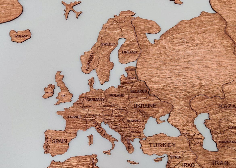 puukartta Eurooppa