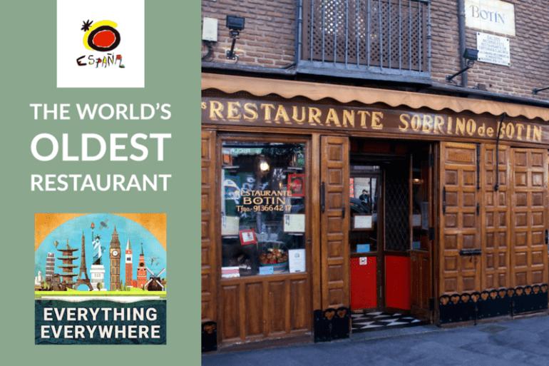 Oldest Restaurant Everything Everywhere