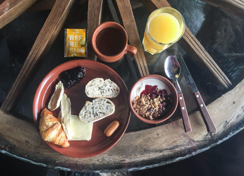 Järvisydän aamiainen