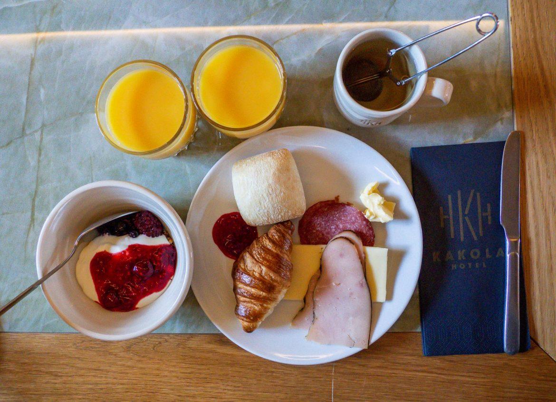 Hotel Kakola aamiainen